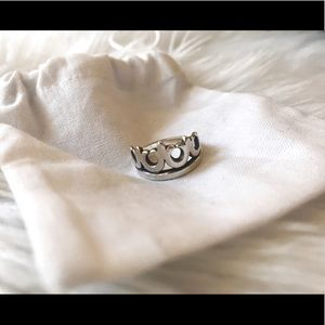 James Avery Crown Ring - 6.5